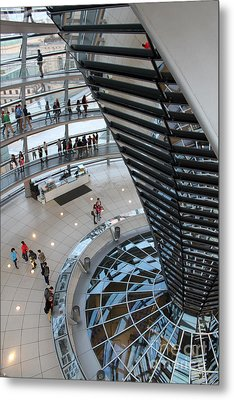 Berlin - Reichstag Roof - No.06 Metal Print by Gregory Dyer