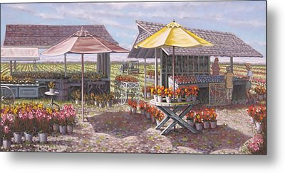 Berries And Bunches Metal Print by Gary Long