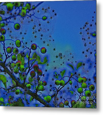 Berry Sky Magic By Jrr Metal Print by First Star Art