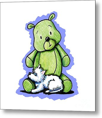 Best Buddies Come In All Sizes Metal Print by Kim Niles