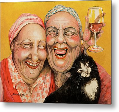Bestest Friends Metal Print by Shelly Wilkerson