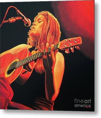 Beth Hart  Metal Print by Paul Meijering