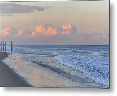 Better Days Ahead Seaside Heights Nj Metal Print by Terry DeLuco