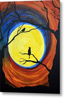 Between Day And Night Metal Print by Vicki Kennedy