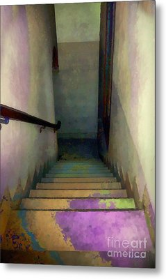 Between Floors Metal Print by RC deWinter