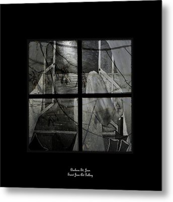 Between The Frames Metal Print by Barbara St Jean