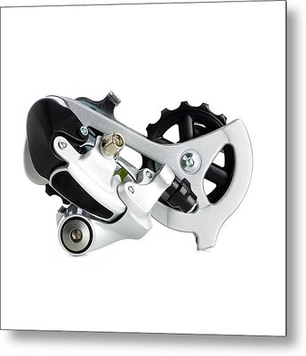 Bicycle Derailleur Metal Print by Science Photo Library