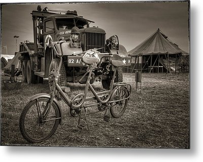 Bicycle Made For Two Metal Print by Jason Green