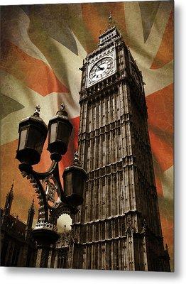Big Ben London Metal Print by Mark Rogan