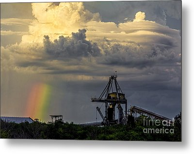 Big Bend Rainbow Metal Print by Marvin Spates