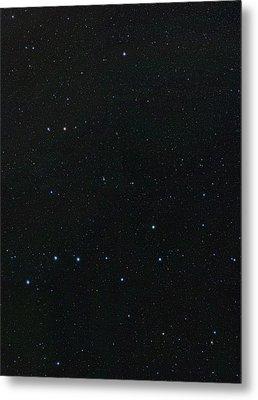 Big Dipper And Ursa Minor Constellation Metal Print by Eckhard Slawik