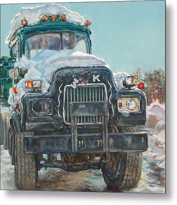 Big Mack Metal Print by Sharon Jordan Bahosh