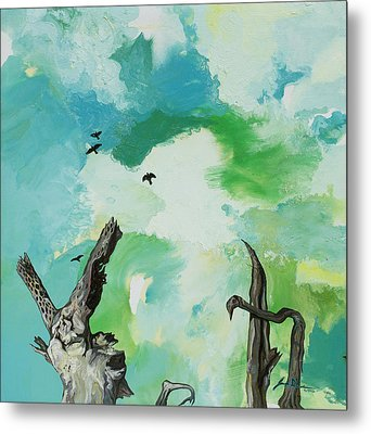 Big Sky Metal Print by Joseph Demaree