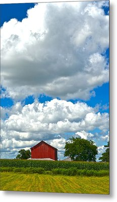 Big Sky Metal Print by Frozen in Time Fine Art Photography