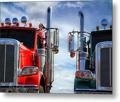 Big Trucks Metal Print by Bob Orsillo
