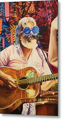 Bill Nershi At Horning's Hideout Metal Print by Joshua Morton