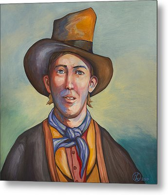 Billy The Kid Metal Print by Robert Lacy