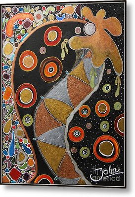 Biological Rhythms.. Metal Print by Jolanta Anna Karolska