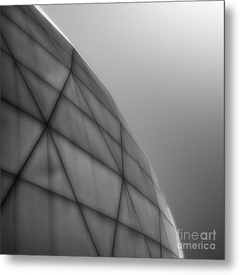 Biosphere2 - Dome Metal Print by Gregory Dyer