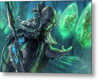 Biovisionary Metal Print by Ryan Barger