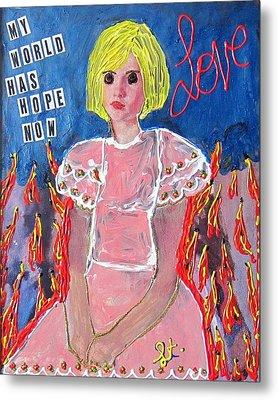 Bipolar Metal Print by Lisa Piper Menkin Stegeman