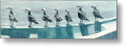 Bird Watchers Metal Print by Faythe Mills