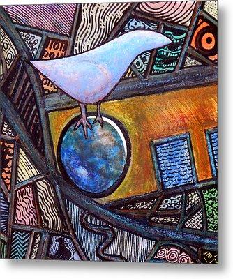 Birdball Metal Print by James Raynor
