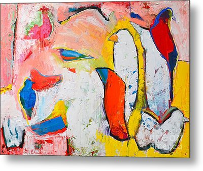 Birds In Paradise Metal Print by Ana Maria Edulescu
