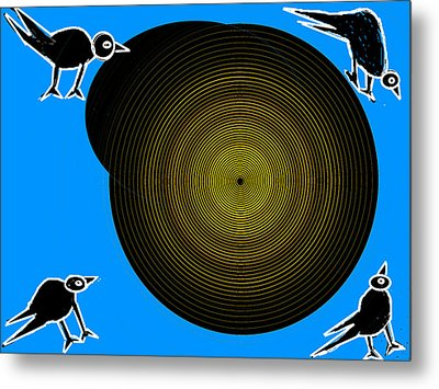 Birds New World Metal Print by Anand Swaroop Manchiraju