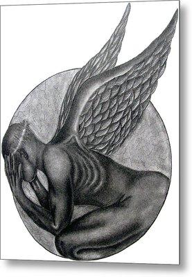 Birth Of An Angel Metal Print by Patrick Carrington
