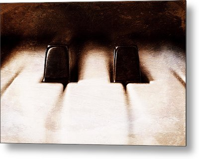 Black Keys D Flat And E Flat  Metal Print by Scott Norris