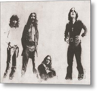 Black Sabbath Metal Print by Jeff Ridlen