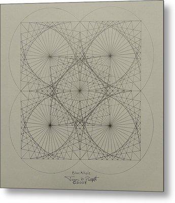 Blackhole Metal Print by Jason Padgett
