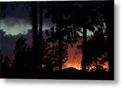Blazing Black Hills Sunset Metal Print by Dakota Light Photography By Dakota