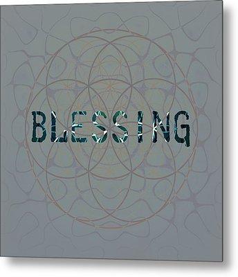 Blessing Metal Print by Janelle Schneider