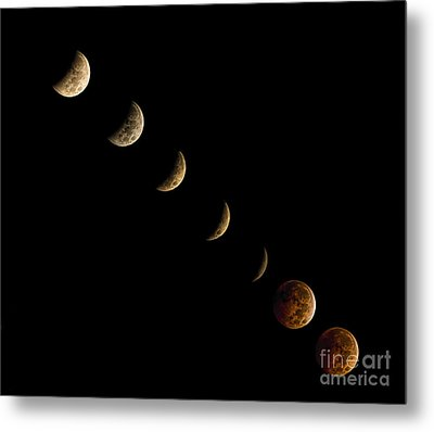 Blood Moon Metal Print by James Dean