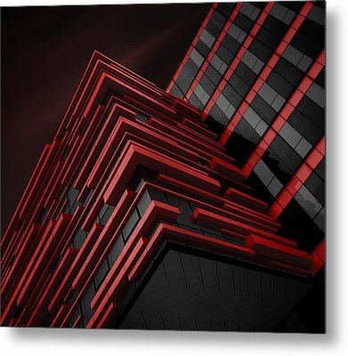 Blood Stream Metal Print by Nadav Jonas