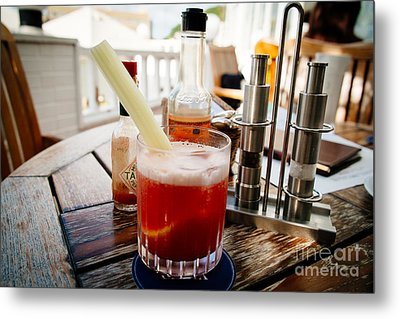 Bloody Mary Metal Print by Dean Harte