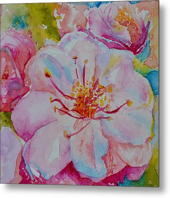 Blossom Metal Print by Beverley Harper Tinsley