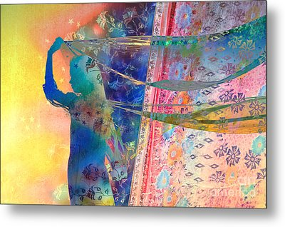 Blowing In The Wind Metal Print by Tim Gainey