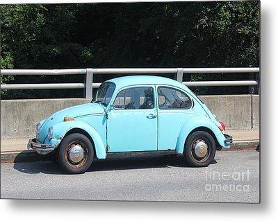 Blue Beetle Metal Print by Lotus