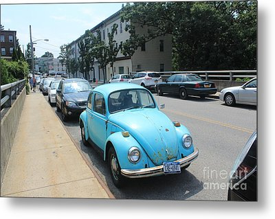 Blue Bug Metal Print by Lotus