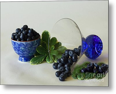 Blue By Nature Metal Print by Inspired Nature Photography Fine Art Photography