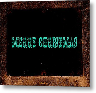 Blue Christmas Metal Print by Chris Berry