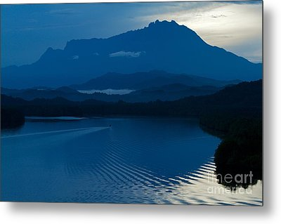 Blue Dawn  Metal Print by Gary Bridger