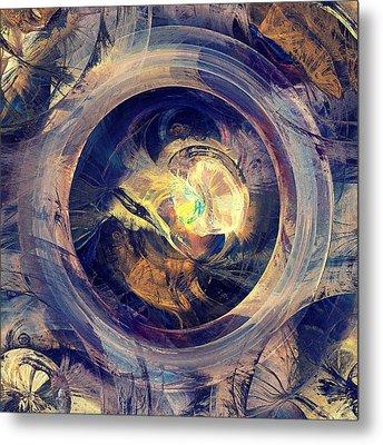 Blue Legend Metal Print by Anastasiya Malakhova