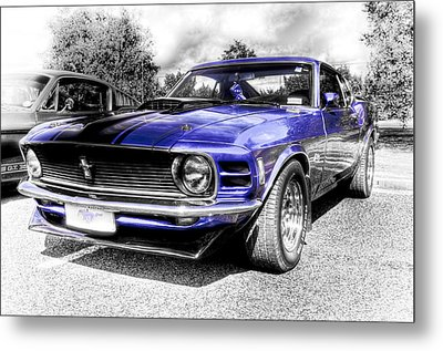 Blue Mach 1 Metal Print by motography aka Phil Clark