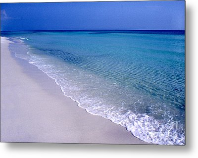Blue Mountain Beach Metal Print by Thomas R Fletcher