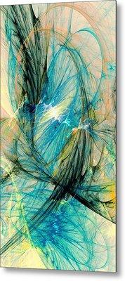 Blue Phoenix Metal Print by Anastasiya Malakhova