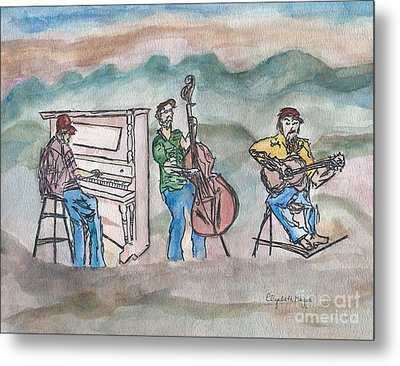 Blue Ridge Tradition   Metal Print by Elizabeth Briggs